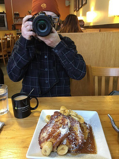 Bananas Foster French Toast courtesy of Portage Bay Cafe