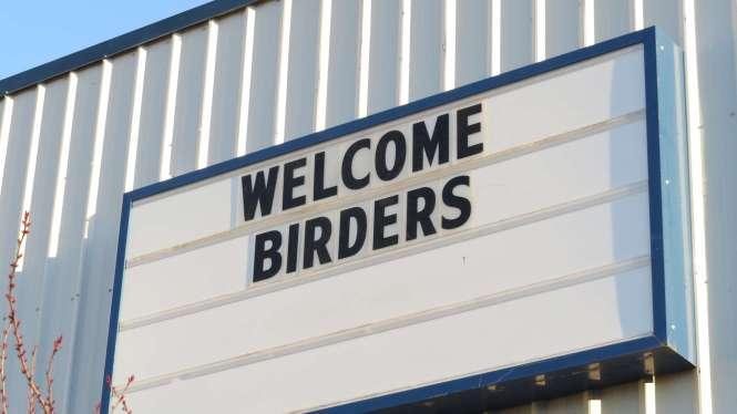 Welcome birders