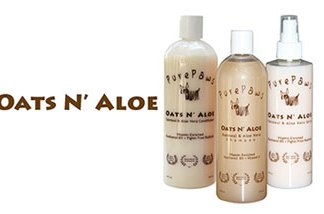 Pure Paws Oats and Aloe Line