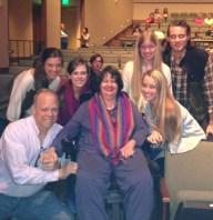Family: Bucky, Megan, Hope, Tracey, Ashlyn, Kathleen and our Sean