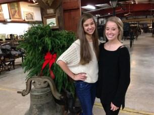 Megan and Ashlyn