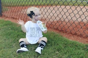 Guilt Free Toddler Meals at the Ball Park