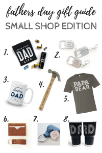 Fathers Day Gift Guide | Small Shop Edition