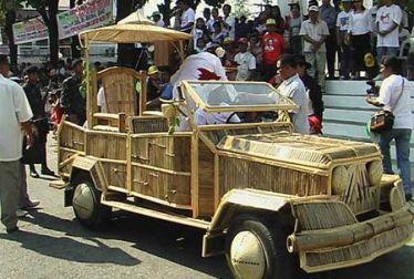 bamboo jeep