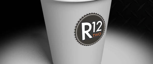 Twelvetwo.net coffee cup