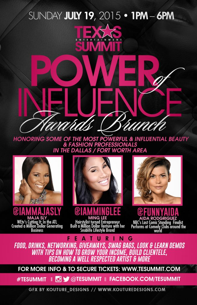 TESummit Power of Influence Awards Brunch