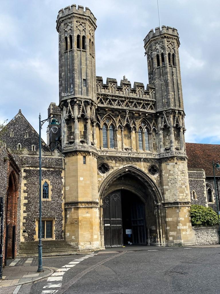 Visiter le Kent : Canterbury abbaye