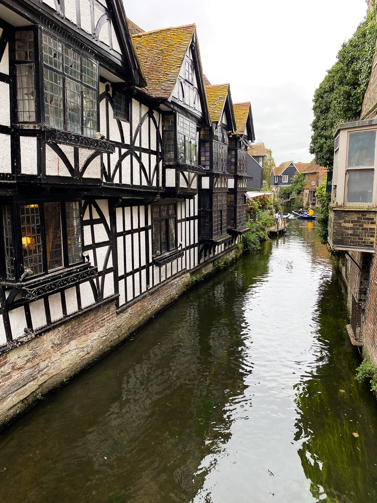 Visiter le Kent : Canterbury rivière