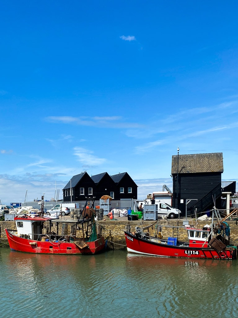 Visiter le Kent : Whitstable harbour 1