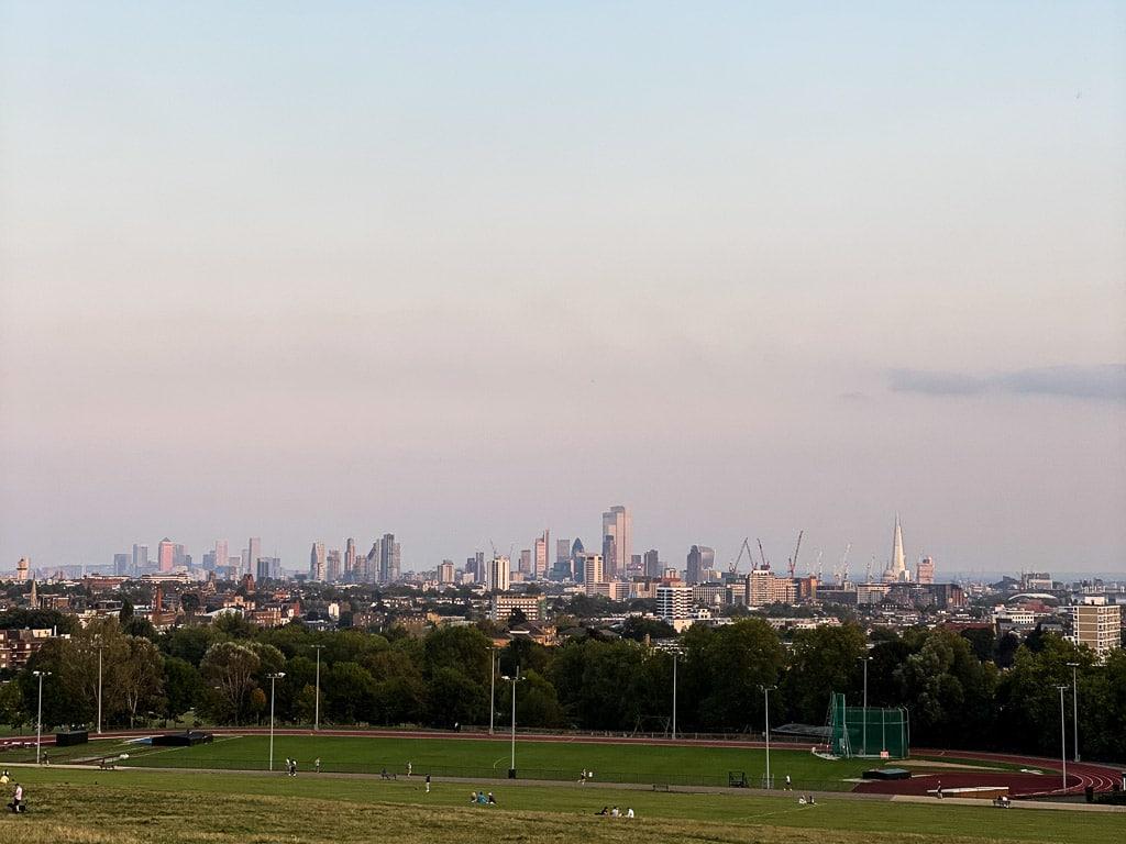 meilleures vues sur Londres : Parliament Hill