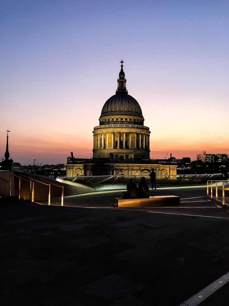 Meilleures vues gratuites sur Londres : One new change rooftop