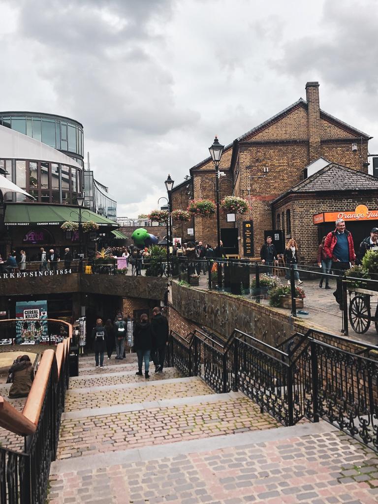Visiter Londres en 2 jours : Camden market