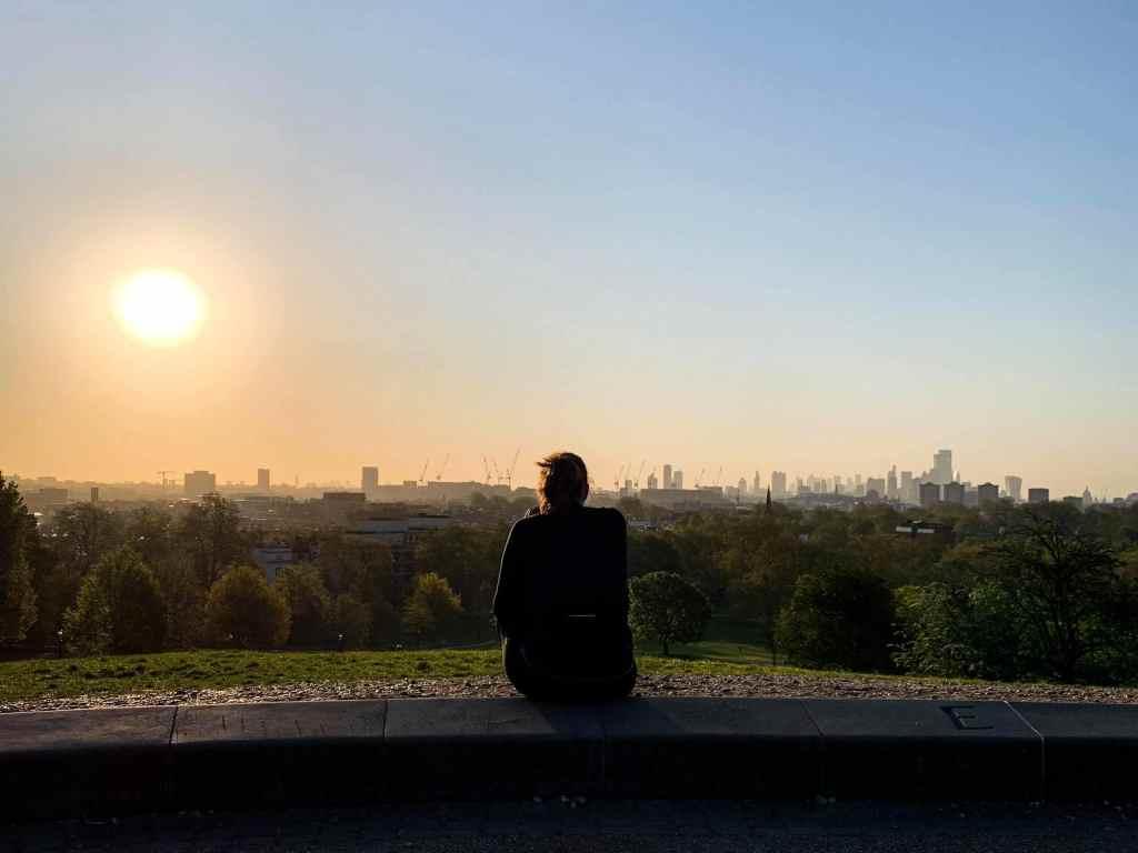 photo de Londres vue depuis Primrose Hill