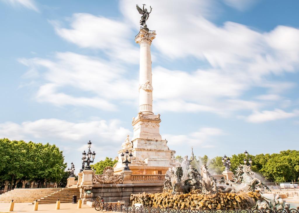 monuments des Girondins à Bordeaux, statut