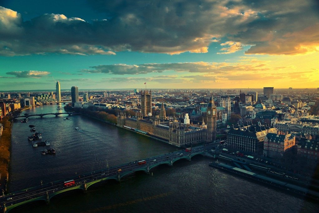 thames, london, river