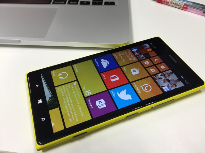 Lumia 1520 cover