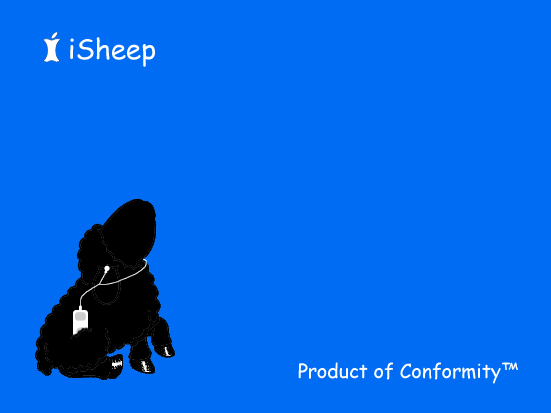 iSheep___Product_of_Conformity_by_Pumbaa11