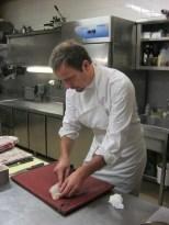 Master chef fileting sole