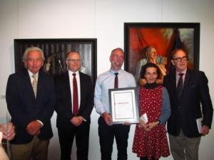 Winner, 2016 travelling scholarship