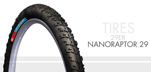 The WTB Nanoraptor 29, as it appears on the WTB website today.