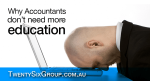 Accountants Don't Need More Education