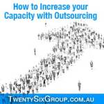 Increase capacity with outsourcing