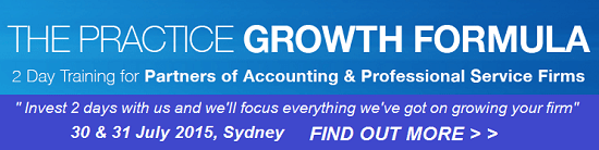 The Practice Growth Formula Workshop - July 2015