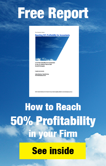 Download the free report on How you can reach 50% Profitability in your Firm