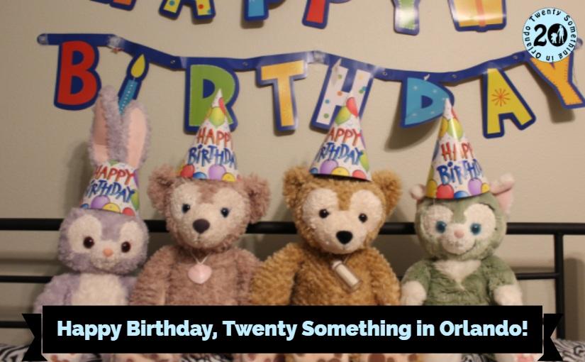 Happy Birthday Twenty Something In Orlando