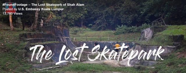 Lost skatepark