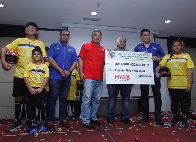 MyGo sponsors Matador Hockey Club