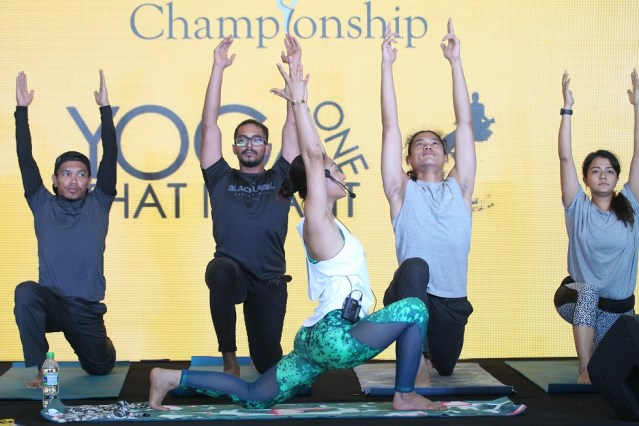 Atilia Haron yoga