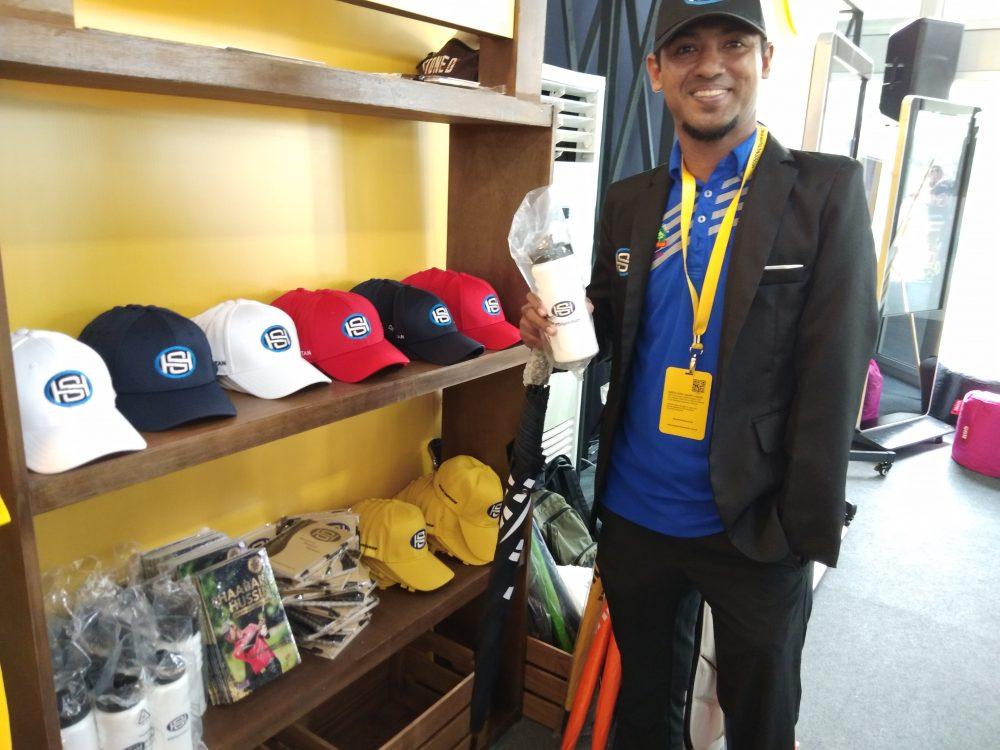 Former pro golfer Shaaban Hussin