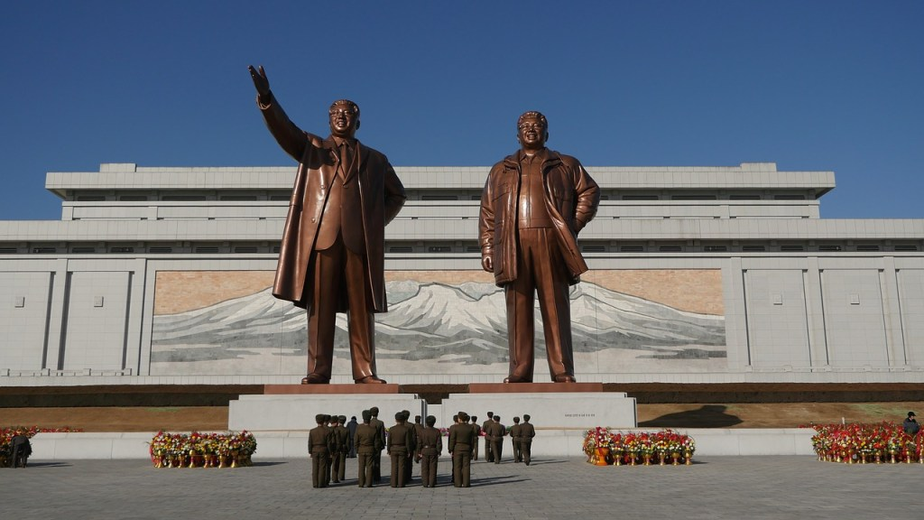 The Grand Monument, Pyongyang