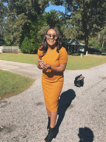 Photo of Atiana McBride-Tobiere, creator of lifestyle blog, Twenty Wandering