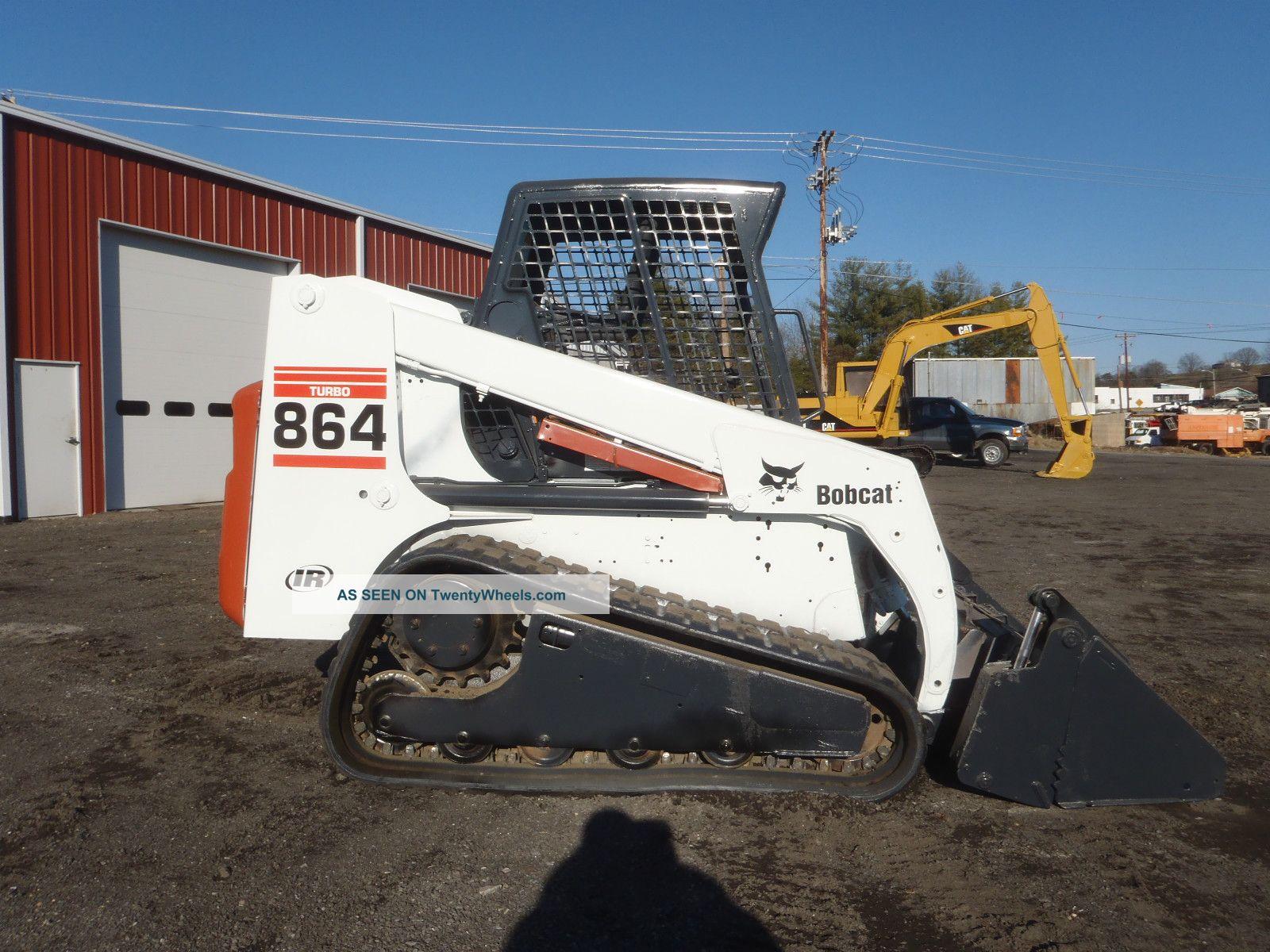 Bobcat 864 Track Skid Steer 4