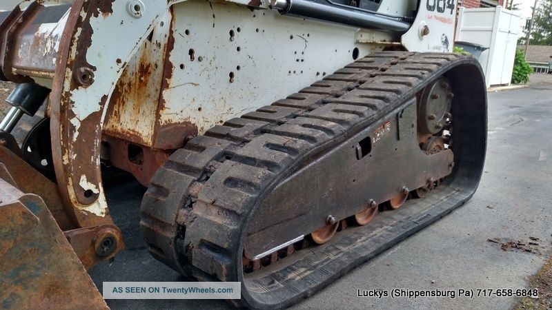 Bobcat 864 Track Steer Loader 73hp Deutzsel