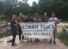 Brian Stewart and team from Ultimate Pools