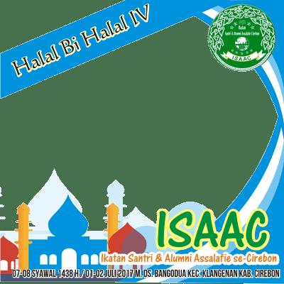 Halal Bi Halal Isaac Support Campaign Twibbon