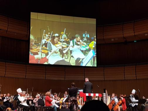 Wallace and Gromit's Musical Marvels 2019 video of orchestra