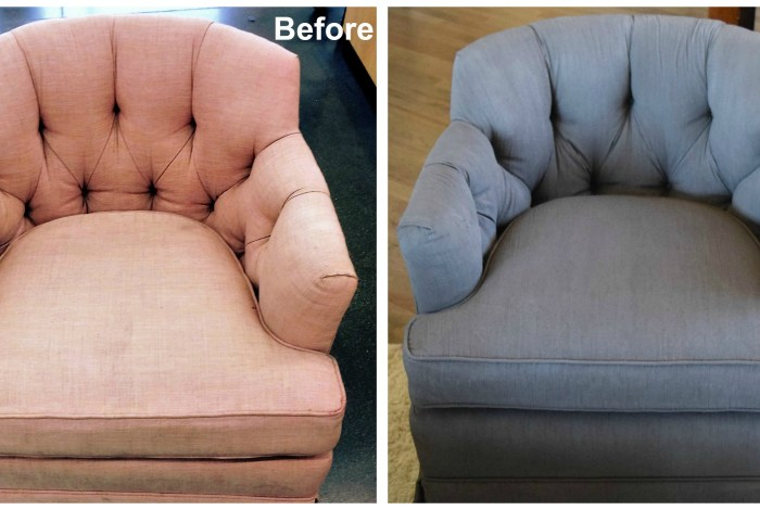 How To Paint Upholstery Fabric