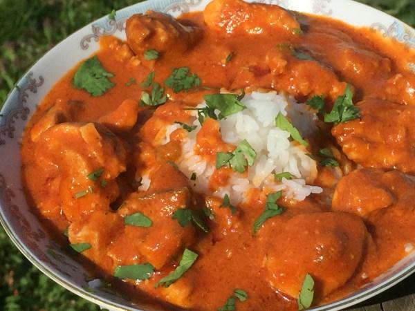 Chicken Tika Masala with Jasmine Rice