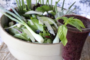 Blueberry Bail Salad Dressing