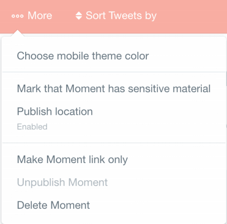 more twitter moments