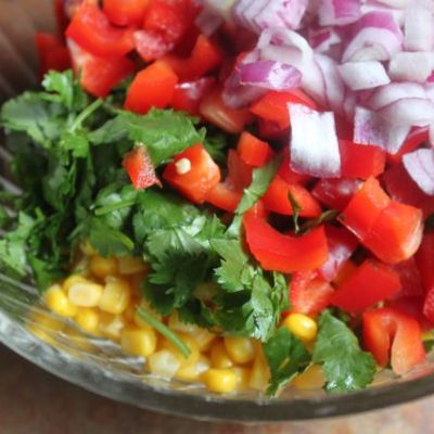 Go-With-Anything Corn Salsa
