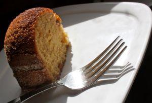 slice of Snickerdoodle Bundt cake