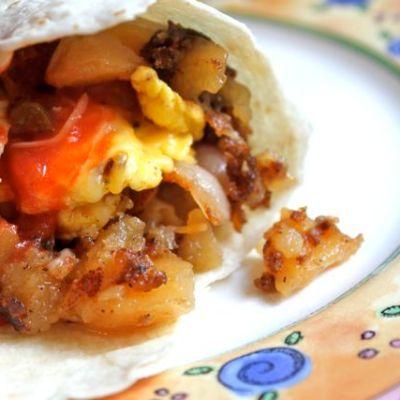 Breakfast Burritos x 2