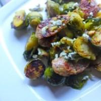 Jalapeno Chicken Sausage, Veggie, Almond, Gorgonzola Yumminess