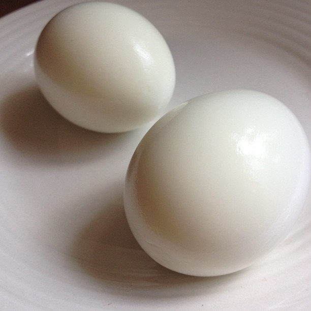 Perfect hardboiled eggs
