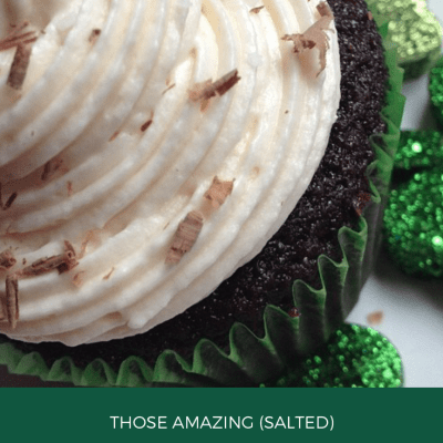 Those Amazing (Salted) Irish Cream Cupcakes